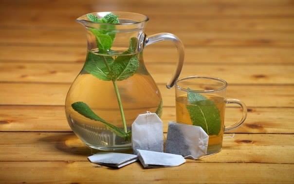 Компрессы для глаз и зеленого чая